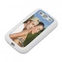 Couverture souple pour Galaxy S3, Blanc