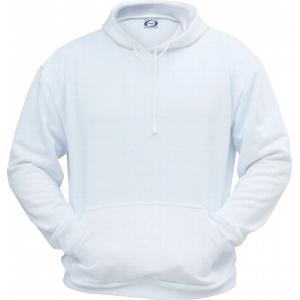 Sweatshirt blanc à capuche