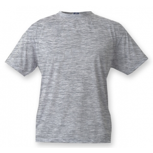 T-shirt Unisexe couleur, impression devant, Ash Heather