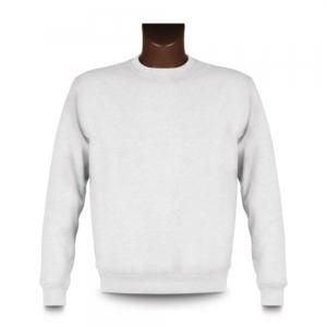 Sweatshirt personnalisable, impression devant, White