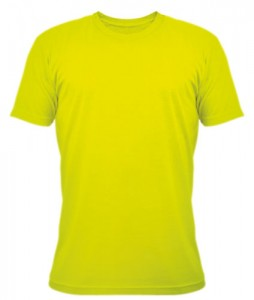T-shirt personnalisable couleur Safety Yellow